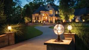 Lighting Options for Outdoor Drives